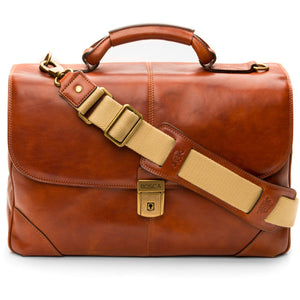 Bosca Dolce Flapover Brief - Lexington Luggage