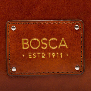 Bosca Old Leather Flapover Brief - Lexington Luggage