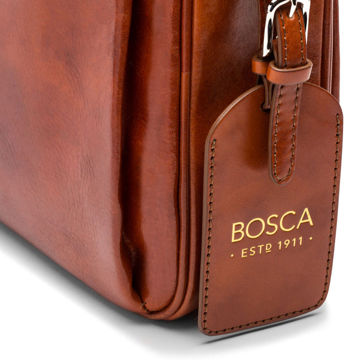 94b630ca5 ... Bosca Old Leather Single Gusset Stringer Brief - Lexington Luggage ...