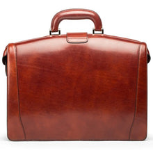 Bosca Old Leather Small Partners Brief - Lexington Luggage