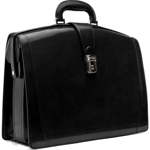 Bosca Old Leather Large Partners Brief - Lexington Luggage