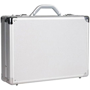 "Heritage Aluminum Single Comp 17.3"" Computer Attache - Lexington Luggage"