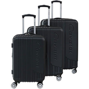Cavalet Malibu 3 Piece Hardside Spinner Luggage Set - Lexington Luggage
