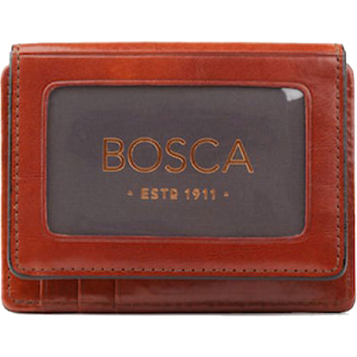 Bosca Old Leather Front Pocket ID Wallet - Lexington Luggage
