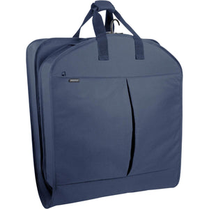 "Wally Bags 45"" EXTRA Capacity Garment Bag with Two Pockets - Lexington Luggage"