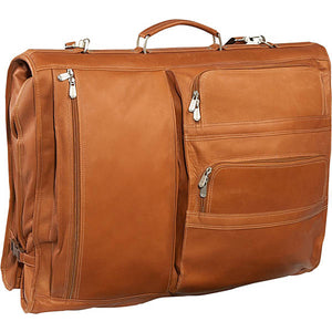 Piel Leather Travel Executive Expandable Garment Bag - Lexington Luggage