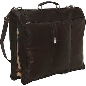 Piel Leather Travel Elite Garment Bag - Lexington Luggage