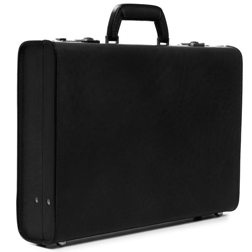 Korchmar Classic Collection Monroe Leather Attache Case - Lexington Luggage