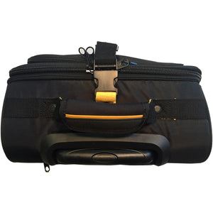 A. Saks U.T.S. Overnight Expandable Computer Rollaboard w/USB Port - Lexington Luggage