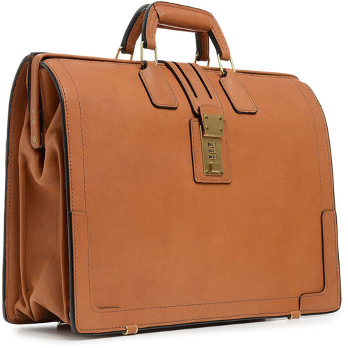 Korchmar Classic Collection Churchill Classic Leather Briefcase - Lexington Luggage