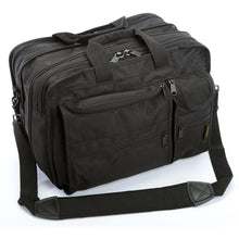 A. Saks EXPANDABLE Ballistic Nylon Organizer Briefcase - Lexington Luggage