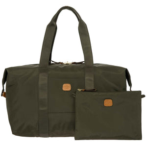 "Bric's X-Bag 22"" Folding Duffel Bag - Lexington Luggage"