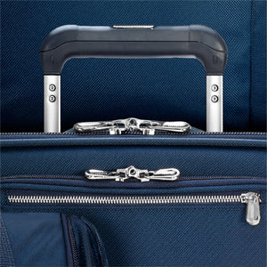 Briggs & Riley Baseline Navy Domestic Carry on Expandable Upright - Lexington Luggage