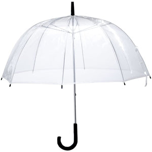 "54"" Clear Dome Bubble Umbrella - Lexington Luggage"