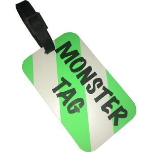 A. Saks Monster Tag (Set of 5) Luggage Tags - Lexington Luggage