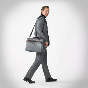 Briggs & Riley @Work Medium Expandable Brief - Lexington Luggage