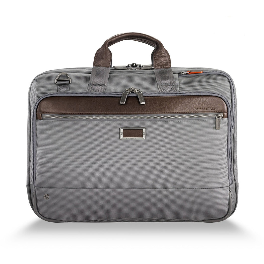 Briggs & Riley @Work Large Expandable Brief - Lexington Luggage