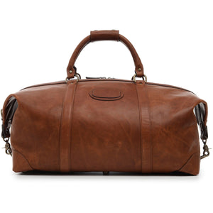 "Korchmar Legacy Collection Twain 22"" Leather Weekender - Lexington Luggage"