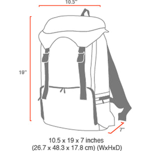 Manhattan Portage Hiker Backpack 3 - Lexington Luggage