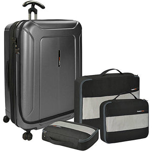 "Traveler's Choice Barcelona 30"" Front Opening Spinner w/Packing Set - Lexington Luggage"