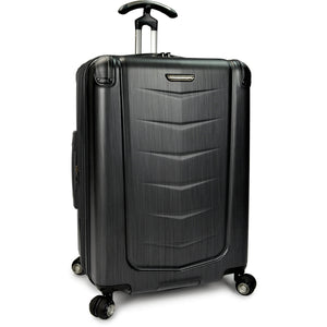 "Traveler's Choice Silverwood 26"" Polycarbonate Spinner - Lexington Luggage"