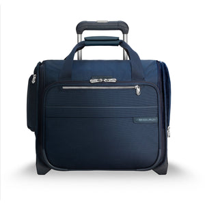 Briggs & Riley Baseline Navy Cabin Bag - Lexington Luggage