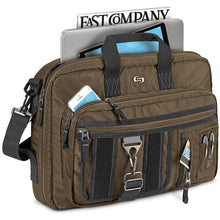 Solo New York Zone Hybrid Briefcase - Lexington Luggage