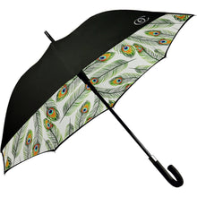 Olivia Elle Peacock Parasol - Lexington Luggage