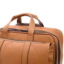 Korchmar Classic Collection Kenton Wheeled Leather Briefcase - Lexington Luggage