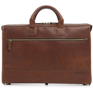 Korchmar Legacy Sawyer Slim Leather Laptop Briefcase - Lexington Luggage