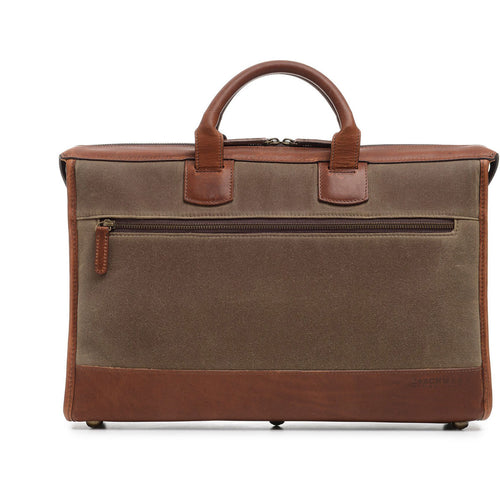 Korchmar Expedition Collection Sawyer Slim Laptop Briefcase - Lexington Luggage