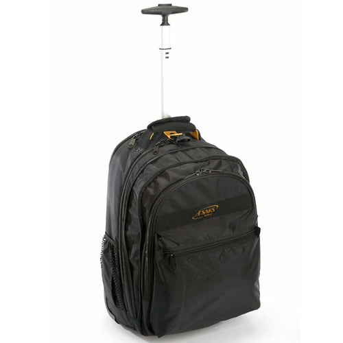 A. Saks EXPANDABLE Wheeled Laptop Backpack - Lexington Luggage
