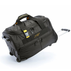 "A. Saks EXPANDABLE 20"" Wheeled Duffel - Lexington Luggage"