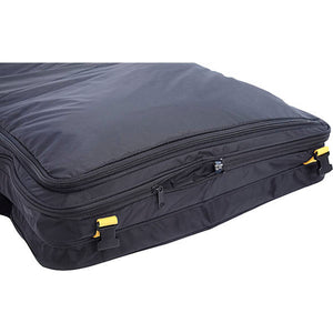 A. Saks EXPANDABLE Deluxe Tri-fold Carry On Garment Bag - Lexington Luggage