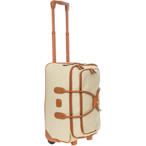 "Bric's Firenze 21"" Carry On Rolling Duffel - Lexington Luggage"