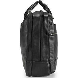 Briggs & Riley @Work Leather Medium Brief - Lexington Luggage