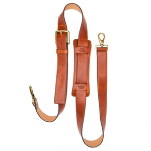 Bosca Old Leather Deluxe All Leather Shoulder Strap - Lexington Luggage