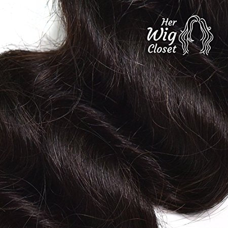 Loose Wave Human Virgin Hair Unprocessed Indian Wavy