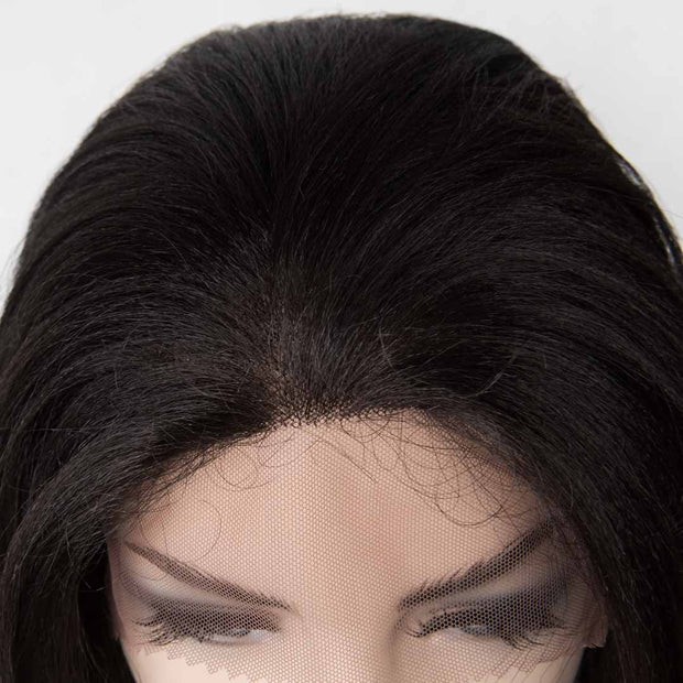 "Cara | 16"" Black Lace Front Wig"