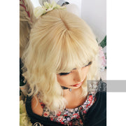 Amanda | Atomic Blonde Wavy Synthetic Wig with Bangs Her Wig Closet