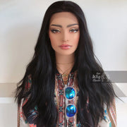 "Bailey | 24"" Black Wavy Lace Front Wig Her Wig Closet"