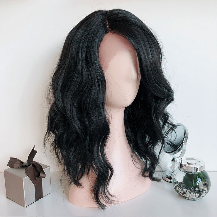 "Charlotte | 14"" Wavy Side Part Lace Front Wig"