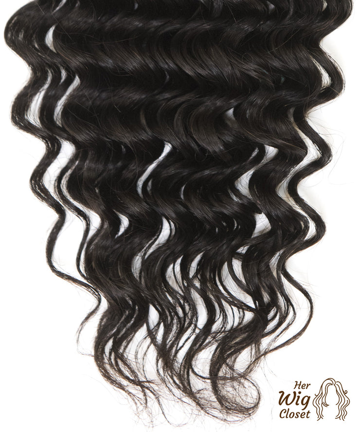 Deep Wave | Human Virgin Hair Unprocessed Curly