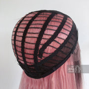 "Kylie | 20"" Pink and Purple Ombre Black Roots Lace Front Wig Her Wig Closet"