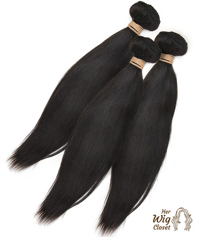 Silky Straight Human Virgin Hair Unprocessed Brazilian Straight