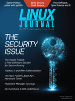 February 2019 Issue of Linux Journal