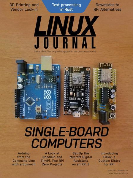 March 2019 Issue of Linux Journal