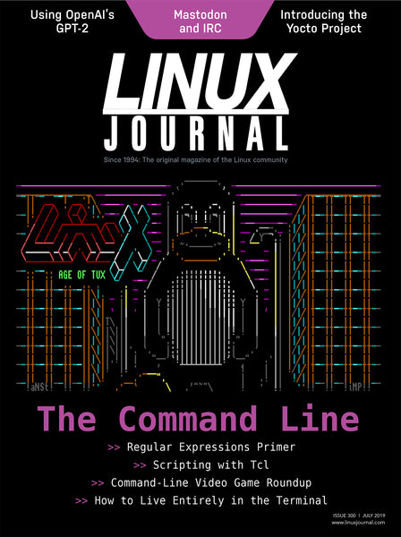 July 2019 Issue of Linux Journal