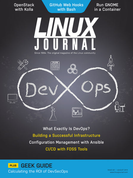 Archive & Back Issues of Linux Journal