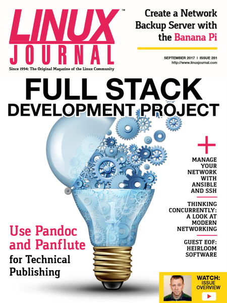September 2017 issue of Linux Journal